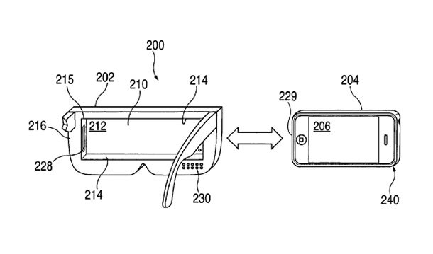 Apple Patent For Virtual Reality Headset