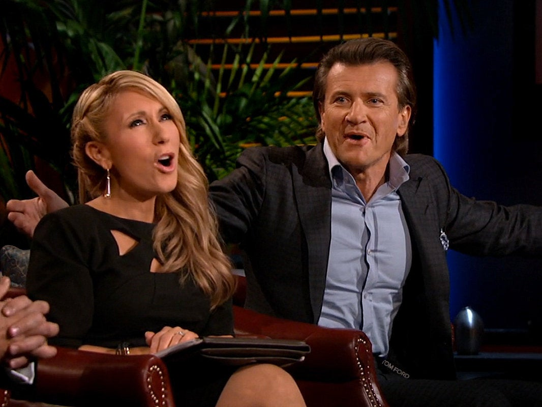 Shark Tank Robert Herjavec and Lori Greiner