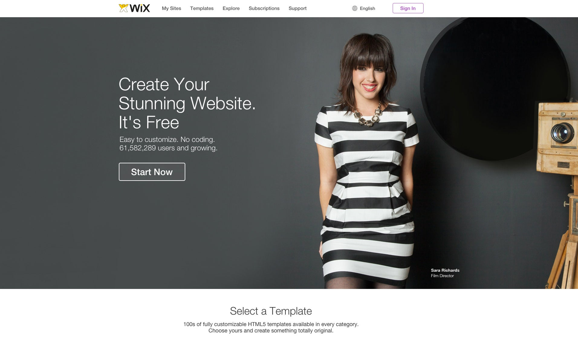 easy tools to build a website wix