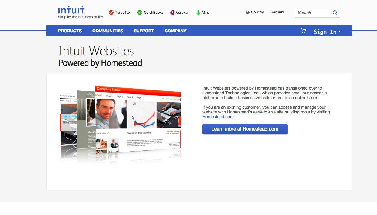 Intuit Websites