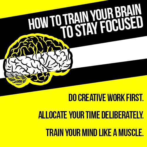 How to Stay Focused: Train Your Brain