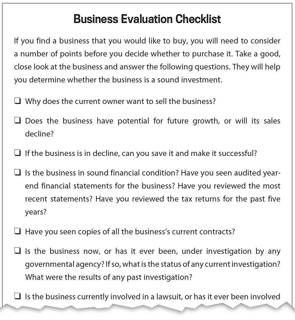 Do I Need A Business Plan To Buy An Existing Business