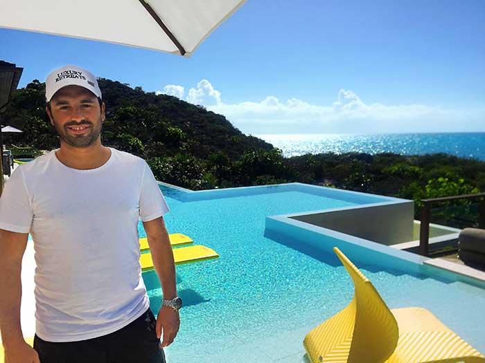 Luxury retreats founder