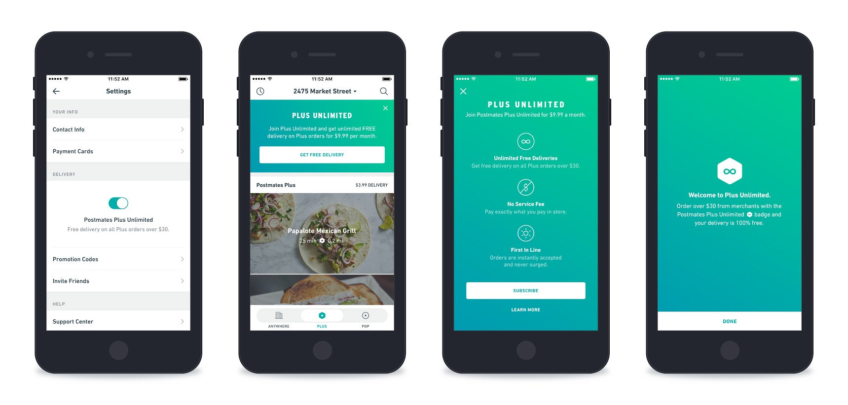 Unlimited Deliveries for $9.99 a Month Sounds Insane. For Postmates, It's the Future.