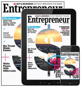 Subscribe to Entrepreneur Magazine