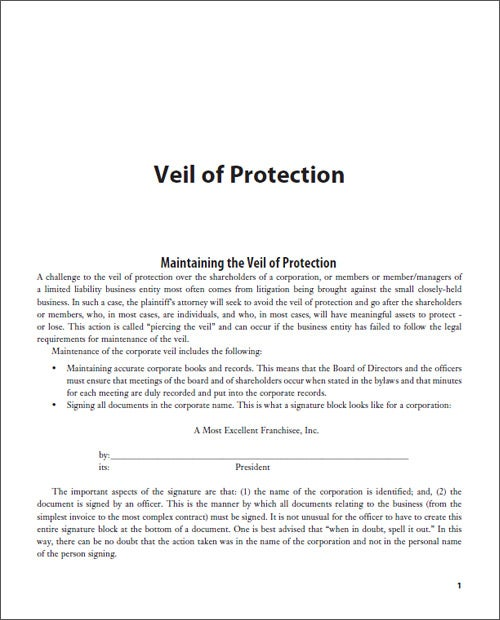 Veil of Protection