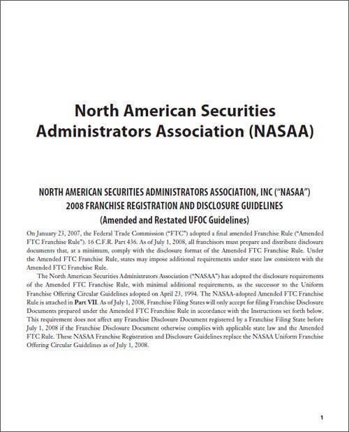 North American Securities Administrator Association