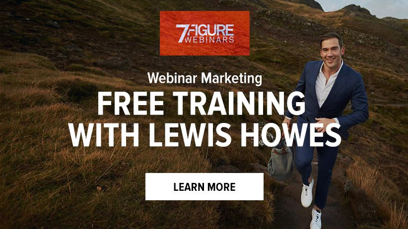Free Live Training With Lewis Howes