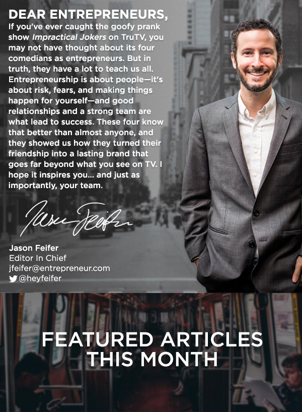 Featured Articles This Month