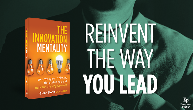 Featured Book: The Innovation Mentality by Glenn Llopis