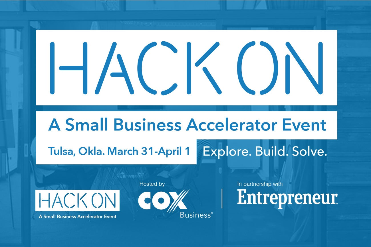 HackOn: A Small Business Accelerator in Tulsa, Okla. | March 31 - April 1