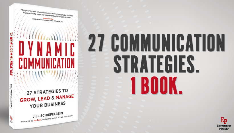 Featured Book: Dynamic Communication by Jill Schiefelbein