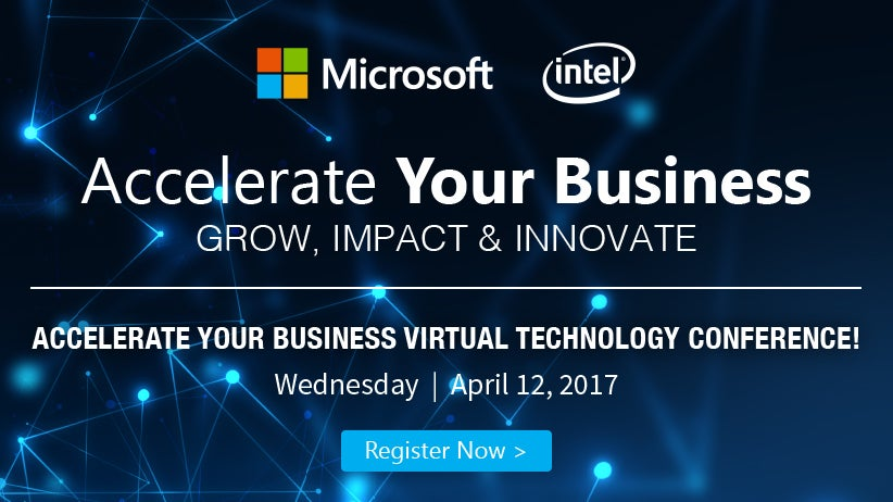 Accelerate Your Business Virtual Event | April 12th