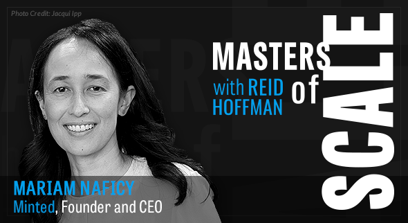 Masters of Scale with Minted's CEO