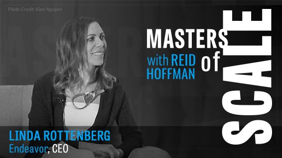 Masters of Scale with Endeavor CEO Linda Rottenberg