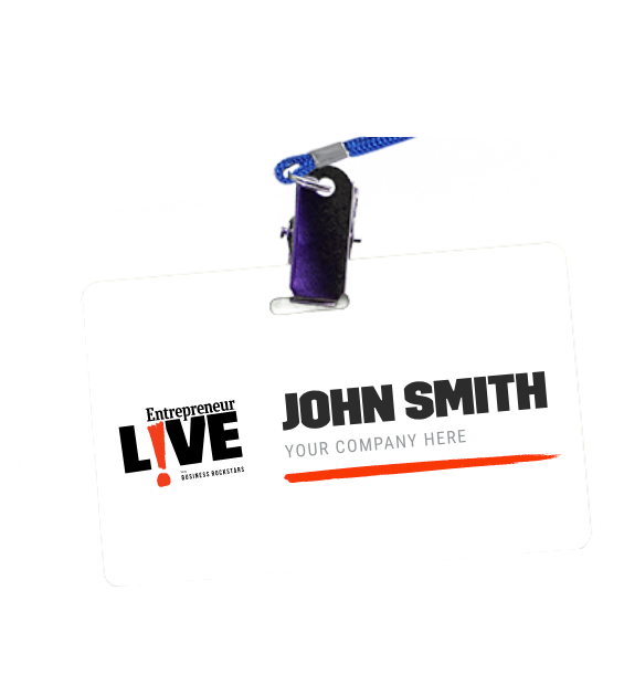 Entrepreneur Live Event Badge