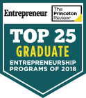Top 25 Graduate Entrepreneurship Programs