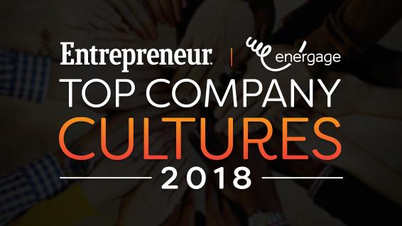 2018 Top Company Cultures