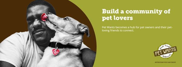 Build a community of pet lovers.