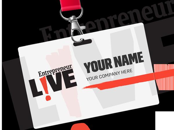 Entrepreneur Live Event Badge