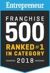 Entrepreneur 500 ranking for 2020