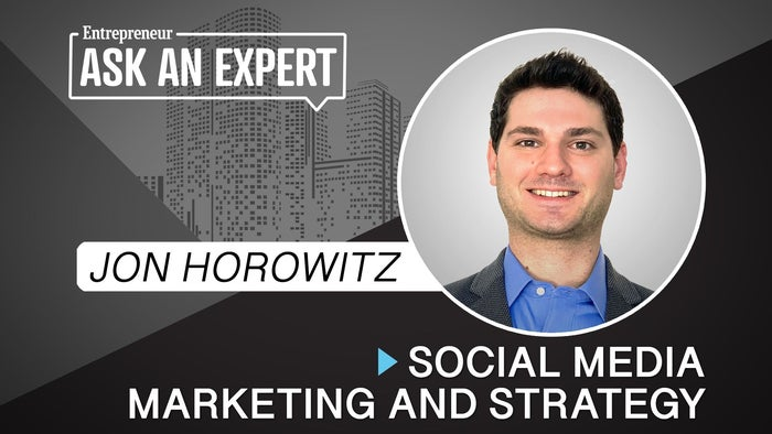Book your session with expert Jon Horowitz