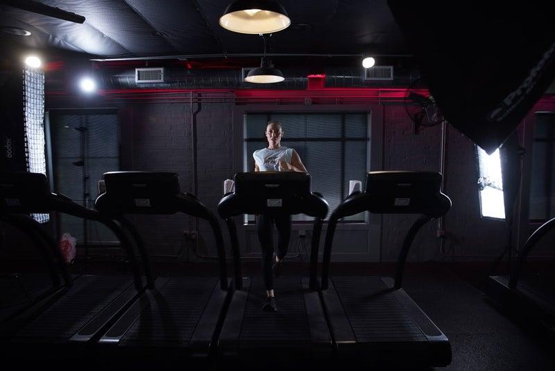 Stride Gym - Women on Treadmill