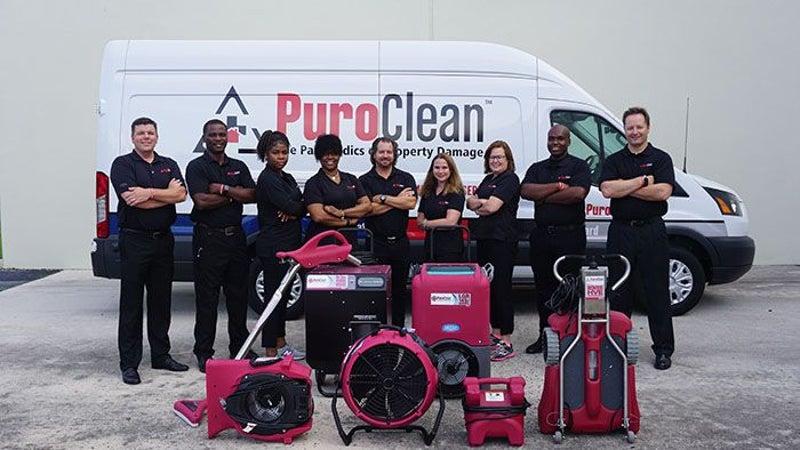 PuroClean franchise team