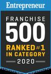Entrepreneur 500 ranking for 2018