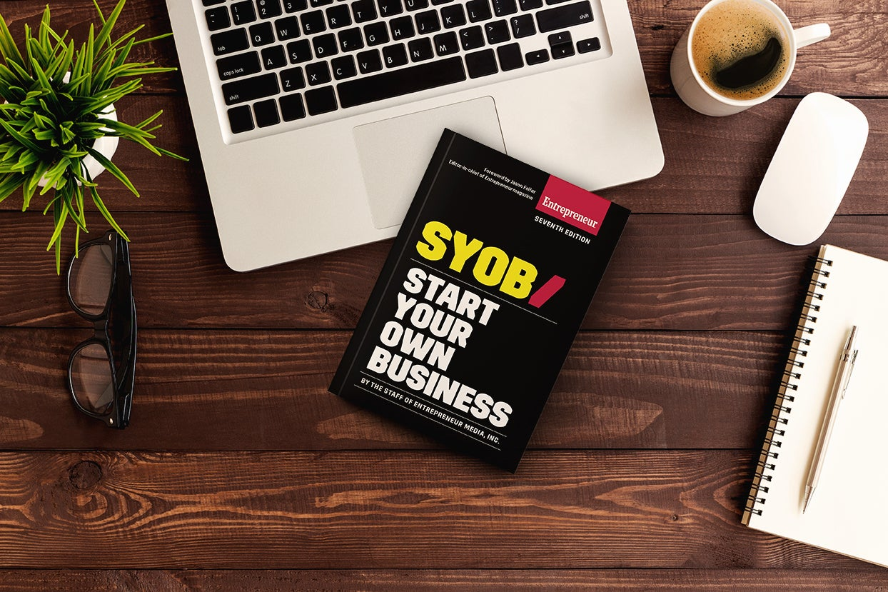 Based off our bestselling book, <em>Start Your Own Business</em>