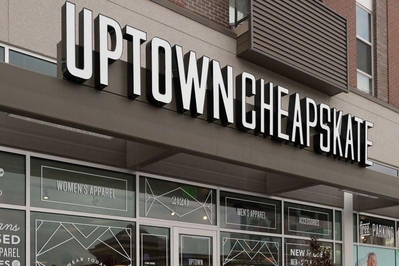 Uptown Cheapskate - Storefront