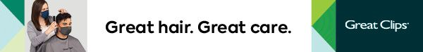 great hair great care banner ad