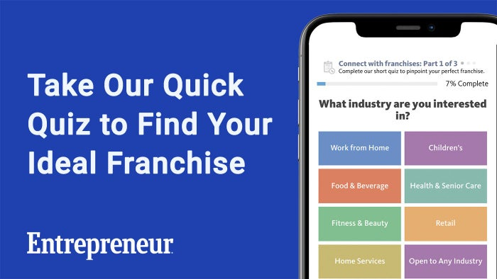 Take Our Quick Quiz to Find Your Ideal Franchise