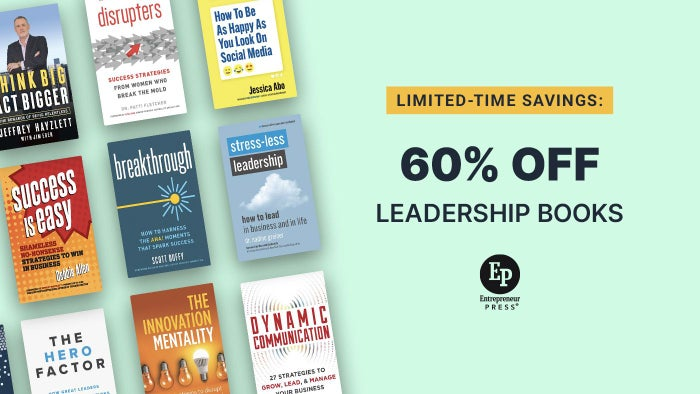 Limited-Time Savings: 60% Off of Leadership Books
