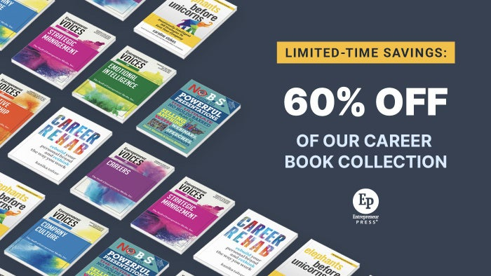 Limited-Time Savings: 60% Off of Our Career Book Collection