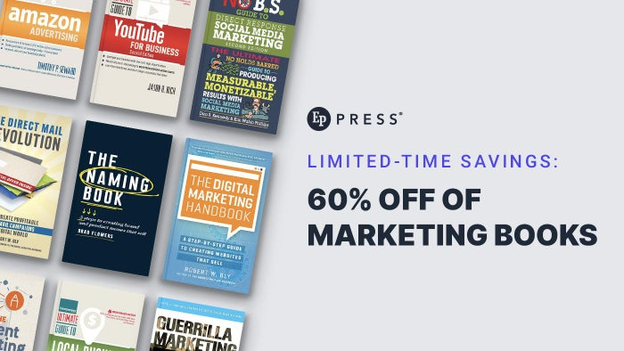 Limited-Time Savings: 60% Off Marketing Books