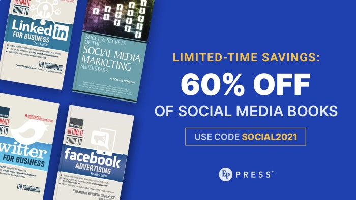 Limited-Time Savings: 60% Off Social Media Books