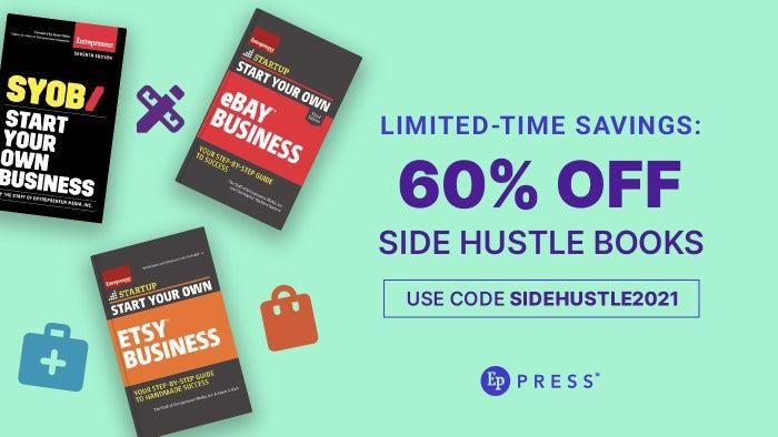 Limited-Time Savings: 60% Off Side Hustle Books