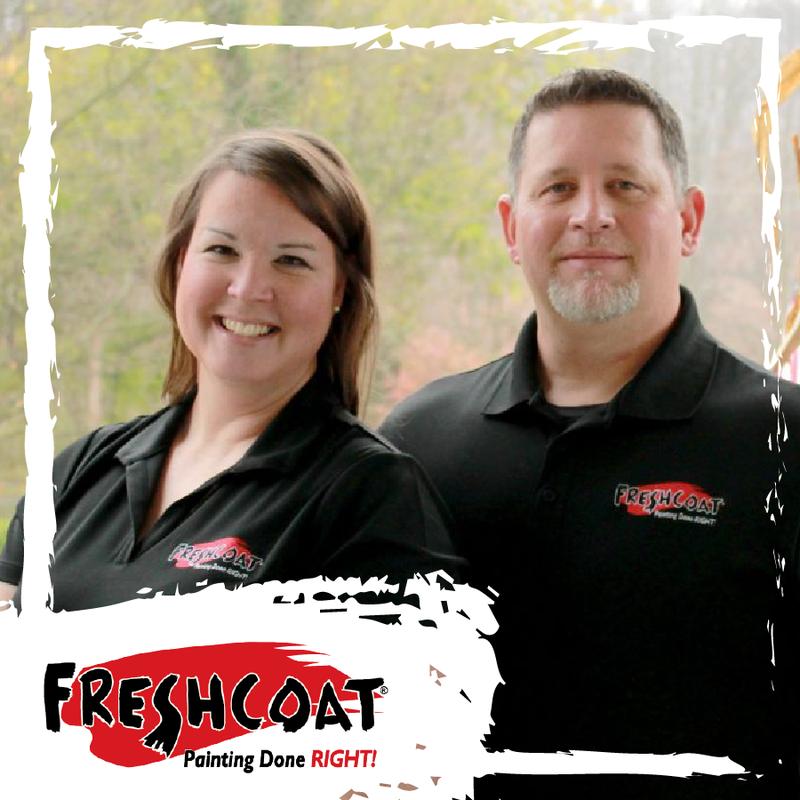 Two Fresh Coat Employees